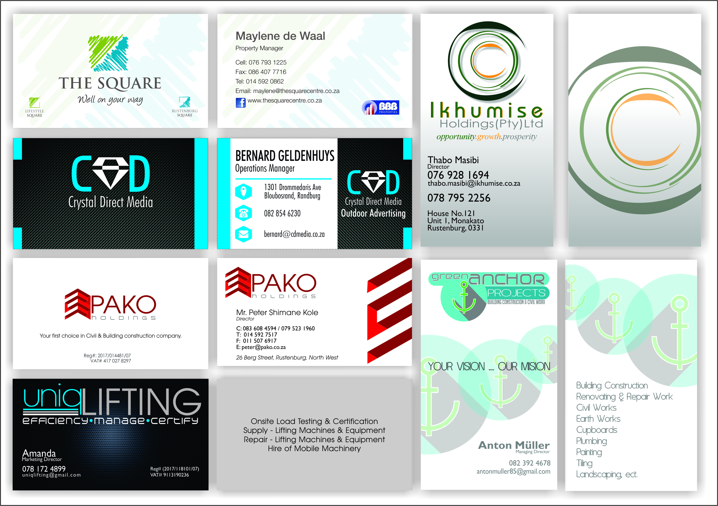 Print studio business cards reheart Images